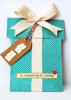 DIY Birthday Cards - Scrapbook Birthday Card - Easy and Cheap Handmade Birthday Cards To Make At Home - Cute Card Projects With Step by Step Tutorials are Perfect for Birthdays for Mom, Dad, Kids and Adults - Pop Up and Folded Cards, Creative Gift Card Holders and Fun Ideas With Cake http://diyjoy.com/diy-birthday-cards