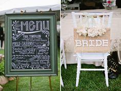GREAT menu Scotshaven Wedding {Brooke + Scott} | utahbrideblog.com