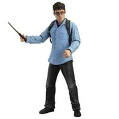 Figura Harry Potter y Las Reliquias de la Muerte. Harry Potter, 18 cms. Serie 1. NECA