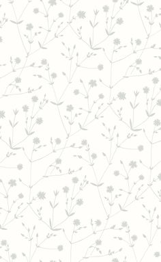 Illalla Wallpaper Cream/Cloud Grey