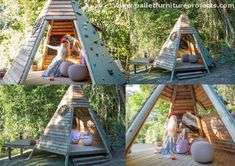 This multi polar cabin is simply cute, this is all equipped with some indoor furniture items, a comprehensive passage path, and a cutest wooden pallet recycled ladder. These are some different dimensions of wood pallet art that can be immensely blissful for your growing kids.