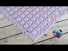 "Hello everybody, ""Lidia Crochet Tricot (Lidia Crochet Knitting) is a channel where you can find many knitting tutorials (with a crochet, with the hooks, even. Shawl Crochet, Lidia Crochet Tricot, Crochet Diy, Knitted Shawls, Crochet Puff Flower, Crochet Flowers, Crochet Designs, Crochet Patterns, Scarf Patterns"