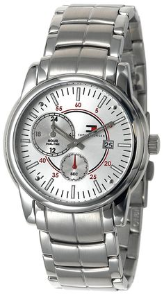 Tommy Hilfiger Men& 1710110 Classic Bracelet Watch *** You can get additional details at the image link. Tommy Hilfiger Watches, Omega Watch, Bracelet Watch, Menswear, Image Link, Classic, Bracelets, Accessories, Derby