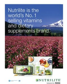 You can't beat family owned organic quality! #1 GLOBALLY Order yours today at Www.amway.com/jeantiffany