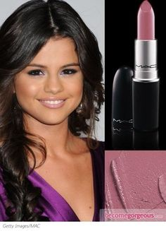 Pictures : Best MAC Lipsticks on Celebrities - MAC Snob Lipstick on Selena Gomez