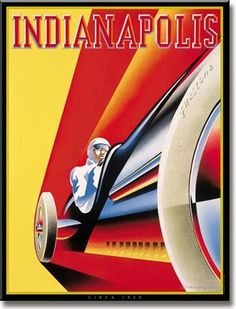 Gentlemen start your engines! I've been to that track a couple of tim… Gentlemen start your engines! I've been to that track a couple of times, awesome every time. Art Deco Posters, Car Posters, Vintage Travel Posters, Vintage Advertisements, Vintage Ads, Party Vintage, Retro, Vintage Race Car, Automotive Art