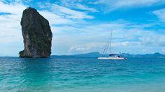 Sailing Thailand by catamaran