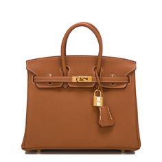 #Hermes #Birkin #Bag Gold Togo Gold Hardware