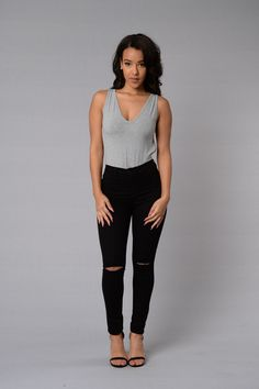 72ddded72ca77 22 Best Black ripped jeans images