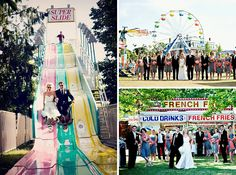 Literally been saying for years all I want is a carnival wedding! Looks like so much fun!