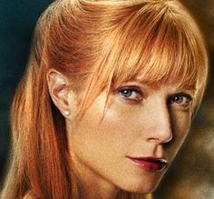 Pepper Potts, I love her as a redhead