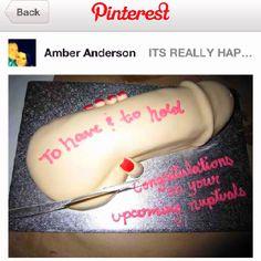 Bachelorette cake idea