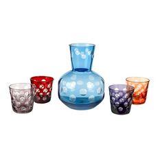 Καράφα με κρυστάλλινα ποτήρια