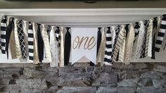 black and gold high chair banner * black and gold first birthday * black and gold backdrop * black and gold birthday * gold first birthday by declanandsmith on Etsy