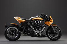 CR&S Duu, la moto la plus personnalisable de tous les temps - http://www.leshommesmodernes.com/crs-duu-moto-personnalisable/                                                                                                                                                     Plus