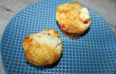 BRIOSE MIC DEJUN Couscous, Baby Food Recipes, Baked Potato, Muffin, Potatoes, Eggs, Breakfast, Ethnic Recipes, Banana