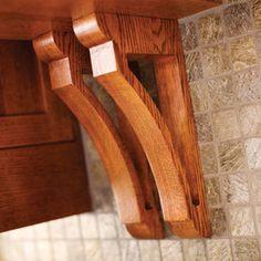 Accents make a statement - Craftsman Kitchen by Dura Supreme Cabinetry
