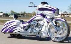 Image result for custom motorcycle bagger paint jobs