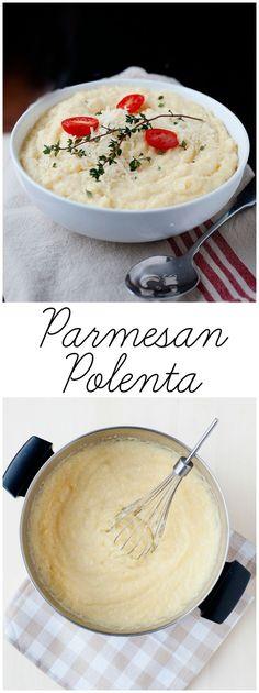 Creamy Parmesan Polenta from http://LauraFuentes.com