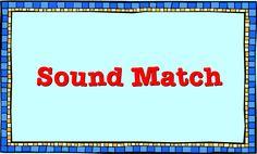 Clifford the Big Red Dog: Sound Match Activity My Five Senses, Dog Games, English Language Arts, Dog Activities, Red Dog, Matching Games, Phonics, Curriculum, Literacy