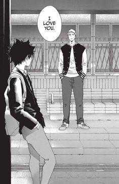 Manga Bl, Manga Love, Manga Anime, Best Anime Couples, Tsukkiyama, Blue Flag, Photo Wall Collage, Manhwa Manga, Character Illustration