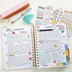 A 17-month agenda so you can keep track of your entire school year. | 23 Insanely Pretty Things Everyone Obsessed With School Supplies Needs To Own
