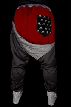 Urban Empire Signature Black and Red Sweats at Threader® Streetwear, Hip Hop Clothing, and Urban Clothing. $44.99.