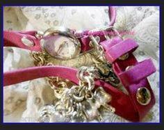 La Mer Candy Cotton Watch on My Ebay Store.. PeppermintpixiePicks