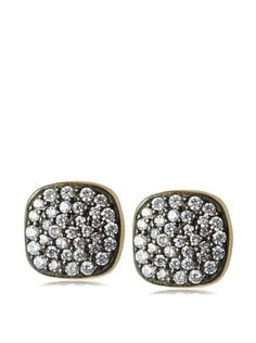 60% OFF Kevia Pave Set Post Earrings