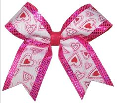 Custom Texas Size, Standard Size, Youth Size, and Pig Tail Hair Bows for Cheer / Dance by POWERBows - 1587