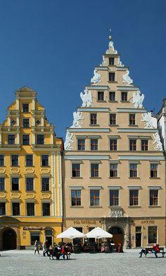 Wroclaw (under the griffins), Poland