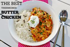 The BEST thermomix butter chicken