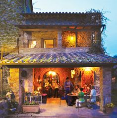 Poggio Etrusco- great place to stay in Italy. Privately owned by American couple. An organic farm near Montepulciano. Cooking classes given by owner Pamela Sheldon Jones, author of Italian cookbooks.
