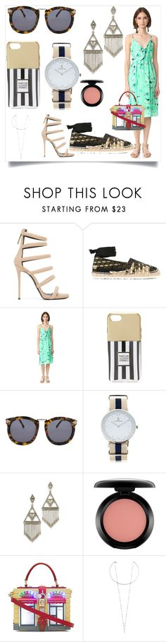 """""""fashion for all"""" by denisee-denisee ❤ liked on Polyvore featuring Giuseppe Zanotti, Pierre Hardy, endless rose, Iphoria, Karen Walker, Kapten & Son, House of Harlow 1960, MAC Cosmetics, Dolce&Gabbana and Rebecca Minkoff"""