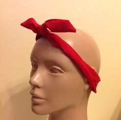 A personal favorite from my Etsy shop https://www.etsy.com/listing/184209025/wire-headbandsolid-red-headbandbow-wire