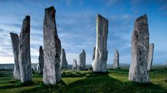 Hebrides, Scotland, Callanish Stones, Isle of Lewis