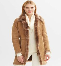 How To Choose Perfect Stylish Shearling Coats For Women