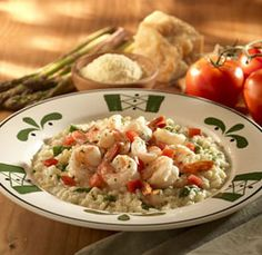 Recipe for Olive Garden Shrimp and Asparagus Risotto. This was my all time favorite dish at ...
