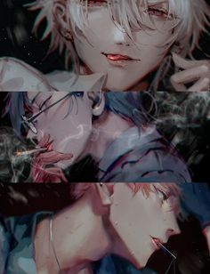 Hot Anime Smoke is not good for your health babe Anime Boys, Hot Anime Boy, Manga Boy, Fanarts Anime, Anime Characters, Manhwa, Male Character, Rap Battle, Boy Art
