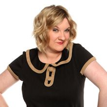 Sarah Millican = adorable yet filthy. Love her.