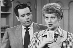 I Love Lucy...I think I have watched every episode....they never get old