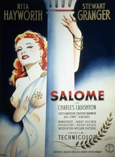 Movie poster for Salome, 1953