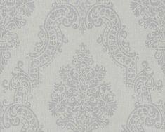 Vliestapete Elegance Ornament grau bei HORNBACH kaufen