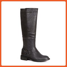 Bucco Heidi Women's Classic Tall Riding Boots, Black, Size 6.5, US - Boots for women (*Amazon Partner-Link)