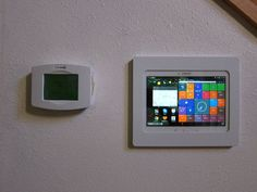 """Replace or reduce the number of """"wall warts"""" by using a wall mounted tablet with any """"Smart Home"""" or automation control system!"""