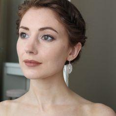Beautiful, handmade earrings by Irish designer, Fleurs de Liss Handmade Jewellery, Earrings Handmade, Irish, Beautiful, Jewelry, Design, Handmade Jewelry, Jewlery, Irish Language