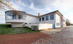 Bauhaus Masters' Houses by Walter Gropius.