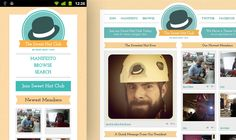 The Sweet Hat Club  Media Queries+HTML5