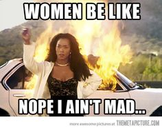 women be like funny memes angry mad women meme lol funny quotes revenge humor Funny Shit, Haha Funny, Funny Stuff, Funny Sarcasm, Angry Women, Mad Women, Def Not, Women Be Like, Thats The Way