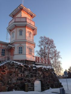 Oulu, North Ostrobothnia province. Finland